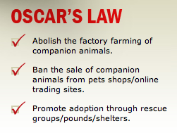 Oscar's Laws aims, screengrab from their website.