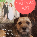 Canvas art - why you should choose to memoralise your pets with canvas.